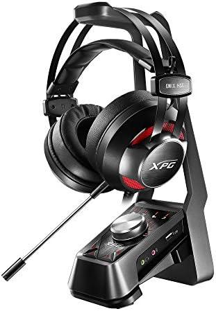 XPG EMIX H30 Wired Headset and SOLOX F30 Amplifier Gaming Audio Set Bundle SOLOX F30 EMIX H30