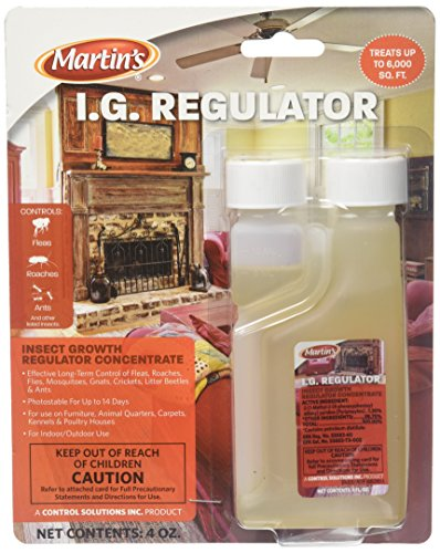 Control Solutions Inc  82005202  Martin#039s I G Regulator  Insect Growth Regulator Concentrate  4oz