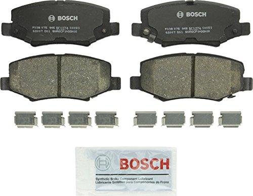 Bosch BC1274 QuietCast Premium Ceramic Rear Disc Brake Pad ()