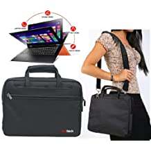 Navitech Black Sleek Premium Water Resistant Shock Absorbent 15.6 Inch Laptop/ Notebook Carry Bag Case For The MSI Wind FX603, FX610MX, FX600MX, FX610, FX600, FR600, GT663, GX660, X620, X600 Pro, X600, CX620 3D, CR630, CX620MX, CX500DX, CX623, CX620, CR62