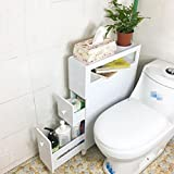 GL&G Bathroom side cabinet waterproof Store objects Cabinets Floor kitchen, Bathroom Furniture Locker narrow slit cabinet,A
