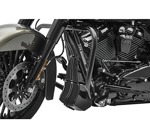 Kuyakyn Gloss Black Precision Regulator Cover for Harley 2017-2018 Electra Glides, Road Glides, Road Kings, Street Glides and Trikes by Kuyakyn