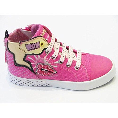 Geox Jr Ciak Girl A - Zapatillas altas Niñas Fucsia