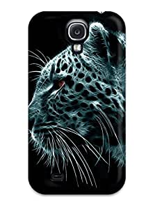 Case Cover Animal Tiger/ Fashionable Case For Galaxy S4