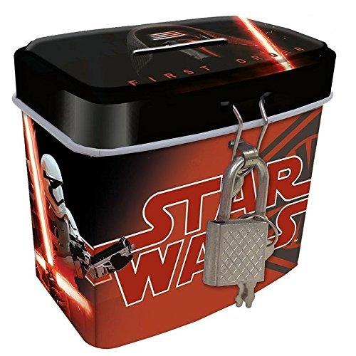 Disney Star Wars VII Porte Monnaie avec Mousqueton 6 Unités, SWE7028 KIDS EUROSWAN