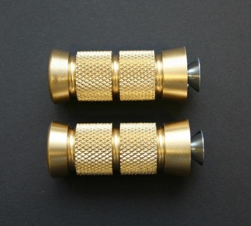 Accutronix Knurled Brass Toe Pegs PT220-KG5