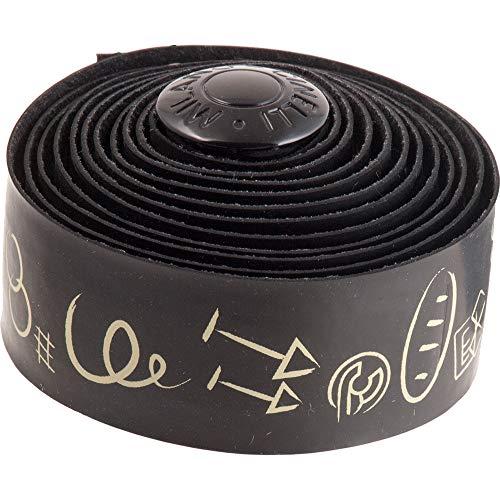 (Cinelli Hobo Alphabet Handlebar Tape, Black)