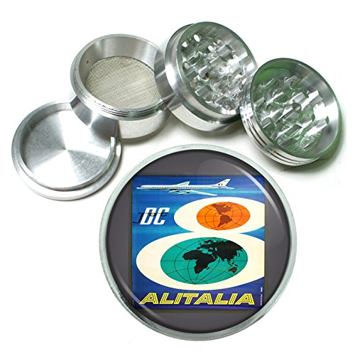 63mm-25-4pc-aluminum-sifter-magnetic-grinder-d-076-dc-jet-airlines-alitalia