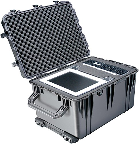 511Ouyty9 L - Pelican 1510TP Carry-On Case with TrekPak Divider System (Bl 015100-0050-110