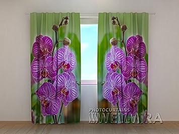 Fantastisch 3D Custom Made Vorhang Orchideen Für Schlafzimmer, Wohnzimmer  (verschiedenen Größen). Set Von
