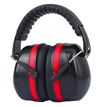 Adult Ear Defenders Headband Hearing Protection Noise Reduction Earmuffs