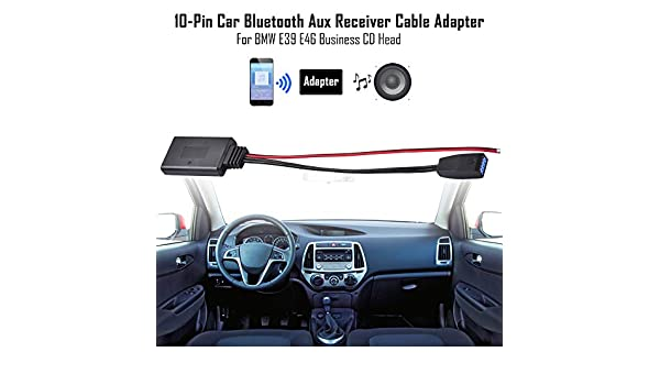 XCSOURCE Bluetooth Adapter Module Audio Aux Cable for BMW E46 3 ...
