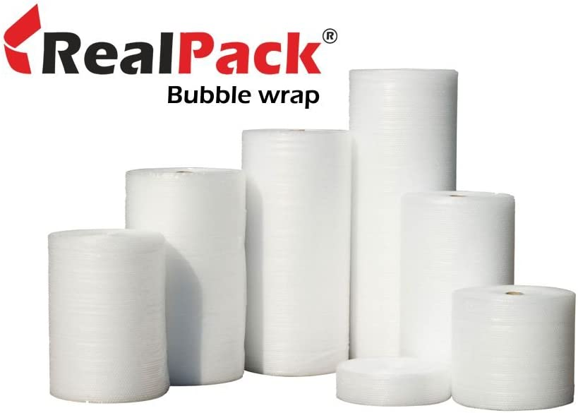 /largo 30,5/cm 300/mm x 50/m Strong ideale per trasloco Fast consegna gratuita Made in UK Realpack/â /® 1/x Small Bubble Wrap roll/