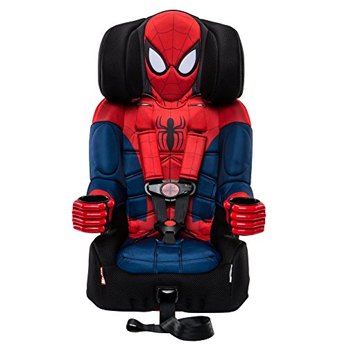 (KidsEmbrace 2-in-1 Harness Booster Car Seat, Marvel Spider-Man)
