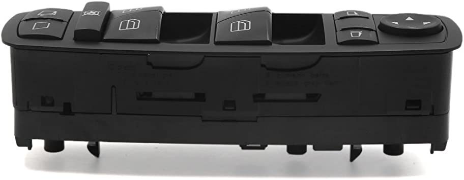 uxcell Power Window Master Switch Left Side for 2006-2011 Mercedes-Benz ML350 2518300090 2518200110 a17041800ux1975