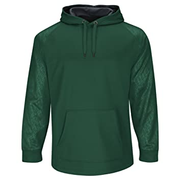 Amazon.com : Majestic Men's Home Plate Hooded Tech Fleece Pullover ...
