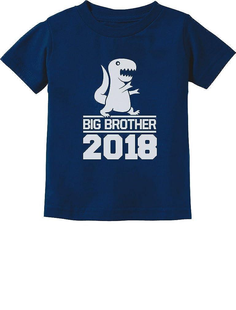 TeeStars - T-Rex Boy Gift for Big Brother 2018 Toddler/Infant Kids T-Shirt 5/6 Navy GtPh0P0gm500m59M/Z