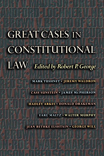 Great Cases in Constitutional Law (New Forum Books) ()
