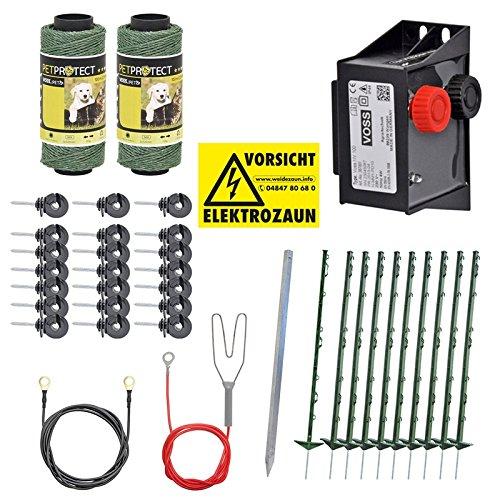 Komplettes Set zur Biberabwehr, Waschbärenabwehr, Rehabwehr - Den Biber, Waschbären und das Reh schnell und wirksam aus Ihrem Garten vertreiben