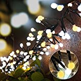 Tomshine 400 LED Decorative String Lights, 10ft Fairy String Lights 8 Modes for Outdoor/Indoor Garden Backyard Party - UL Listed - Romantic Decoration & Safety Guaranteen