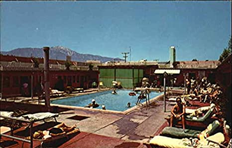 Vintage Art Deco Murrieta California Hot Spring Health Resort Advertising Comb