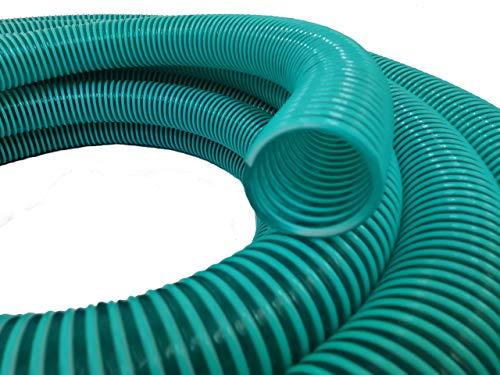 511OyyPrtsL Hero Spiralschlauch Saugschlauch Druckschlauch Förderschlauch 25 mm Grün/Transparent 10 Meter
