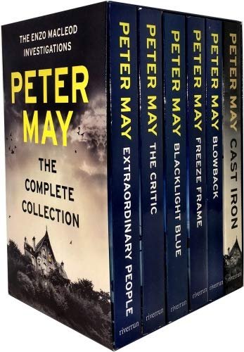 (Peter May Collection Enzo Files Series 6 Books Box Set (Extraordinary People, The Critic, Blacklight Blue, Freeze Frame, Blowback, Cast Iron))