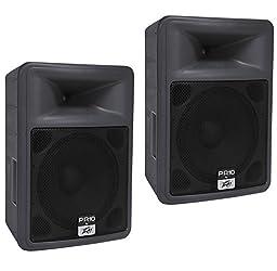 Peavey PR-10 10in Passive Loudspeaker Bundle (Pair)