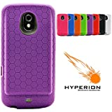 Hyperion Samsung Galaxy Nexus Extended Battery HoneyComb TPU Case Purple (Hyperion Retail Packaging) **Compatible with ALL Hyperion, Qcell, and Anker Galaxy Nexus Extended Battery Models**