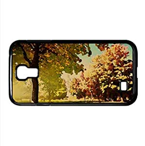 lintao diy Beginning Of Autumn Watercolor style Cover Samsung Galaxy S4 I9500 Case (Autumn Watercolor style Cover Samsung Galaxy S4 I9500 Case)