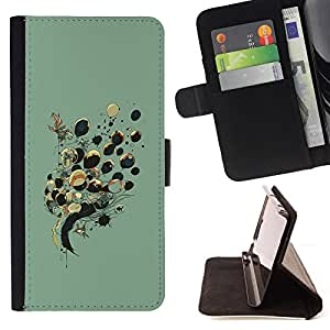 For HTC Desire 626 & 626s Balloons Lady Drawing Fashion Deep Style PU Leather Case Wallet Flip Stand Flap Closure Cover