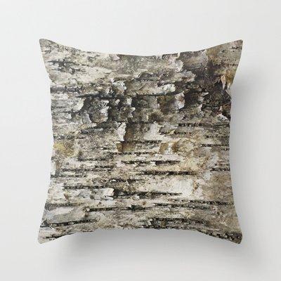 Birch Tree Bark Pillowcase New Design Pillow cover for Sofa Octopus (Sham Birch)