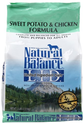 Natural Balance Limited Ingredient Diets Chicken and Sweet Potato Formula – 5lb, My Pet Supplies