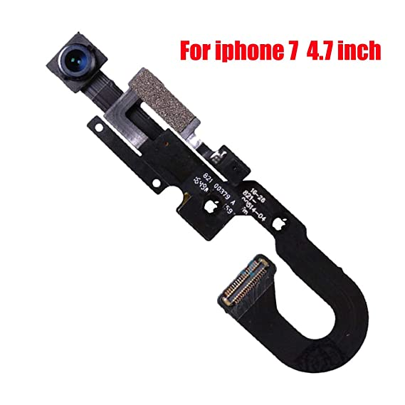 outlet store cf67e 6dc5a Afeax Compatible with OEM iPhone Face Front Camera with Sensor Proximity  Light and Microphone Flex Cable Replacement for iPhone 7 4.7