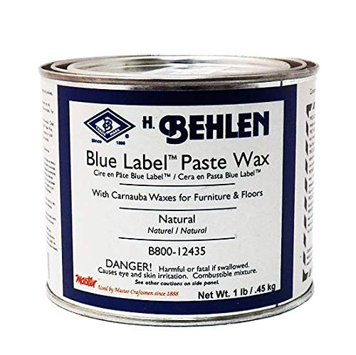 - Behlen Blue Label Paste Wax Natural