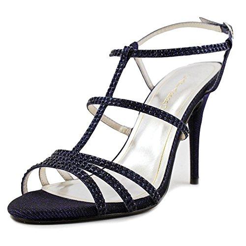 Caparros Groovy Donna Open Toe Sandali Sintetici Blu Navy Brillante
