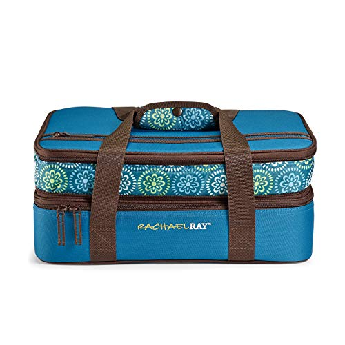 Rachael Ray Expandable Double Casserole Carrier