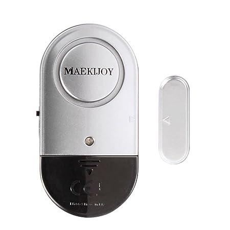 Burglar Alarm Cost >> Window Alarm 1 Pack Magnetic Door And Window Alarms Home Security Door Window Burglar Alarm With Loud 120 Db Siren Diy Easy To Install