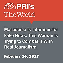 Macedonia Is Infamous for Fake News. This Woman Is Trying to Combat It With Real Journalism.