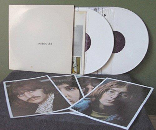The White Album 2x LP (White Vinyl) (Includes Poster and Portaits)