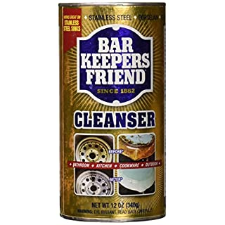 Bar Keepers Friend Cleanser and Polish, 12-Ounces (2-Pack)