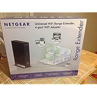 Netgear WN2000RPT-111NAS N300 WiFi Range Extender, Black