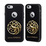 Official HBO Game Of Thrones Sigils - Targaryen Gold Various Designs Black Guardian Case for Apple iPhone 6/iPhone 6s