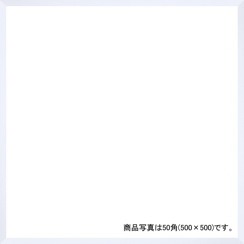 デッサン額、正方、桜平型 ホワイト 60角600×600 アクリル 受注生産 B01FCX3JJS 66×66×3.5cm|ホワイト ホワイト 66×66×3.5cm