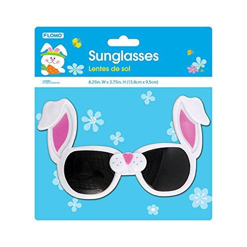 FLOMO Easter Bunny Sunglasses - Bunny Sunglasses Easter