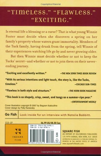 Tuck Everlasting: Natalie Babbit: 9780312369811: Amazon.com: Books