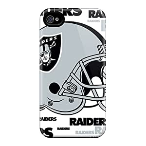 SherriFakhry Iphone 6plus Anti-Scratch Hard Phone Cover Support Personal Customs Trendy Oakland Raiders Pattern [VIE14923KbQT]