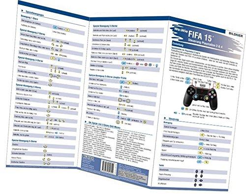 FIFA 15 - Alle 133 Spielersteuerungen groß auf einen Blick!: Für PS3 und PS4 (Wo&Wie / Die schnelle Hilfe)