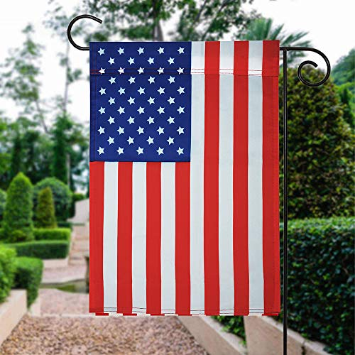 (American Garden Flag - USA Yard Flag Classic Stars and Stripes 18