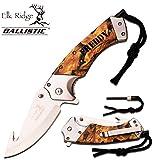 Personalized Free Engraving - Quality Elk Ridge Pocket Knife … (ER-A007CA)